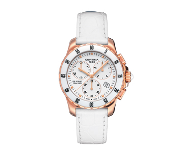Certina DS First Lady Ceramic Chronograph