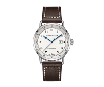 Khaki Navy Pioneer Automatic 80H