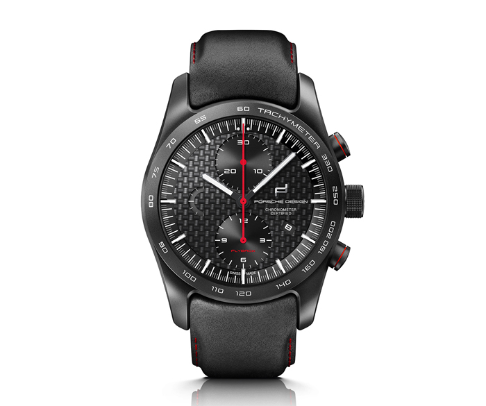 Porsche Design Chronotimer FLYBACK RACING RED Special Edition