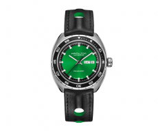 American Classic Pan Europ Day Date Automatic 80H Green