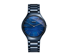 Rado True Thinline Blue Water