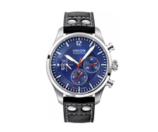 Union Glashütte Belisar Pilot Chronograph Blue