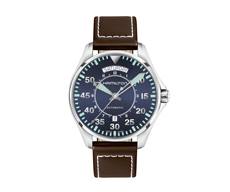 Khaki Aviation Pilot Day Date Automatic 80H