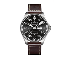 Khaki Aviation Pilot Day Date 46mm Automatic 80H
