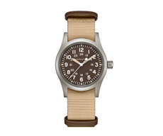 Khaki Field Mechanical 38mm Handaufzug 80H