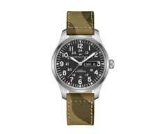 Khaki Field Khaki Field Day Date 42mm Automatic 80H