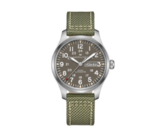 Khaki Field Day Date 42mm Automatic 80H