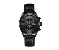 Khaki Field 42mm Automatic 60H Chronograph Black