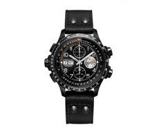 Khaki Aviation X-Wind Automatic Chronograph Black 60H