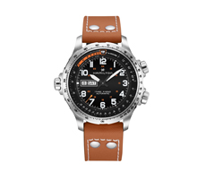 Khaki Aviation X-Wind Day Date Automatic 80H