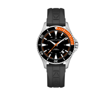 Khaki Navy Scuba Black/Orange Automatic 80H