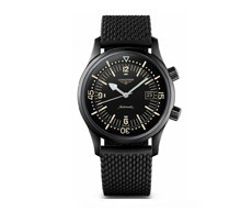Longines Heritage Legend Diver Watch Black Night