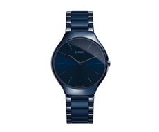 RADO HAU True Thin Line Blue